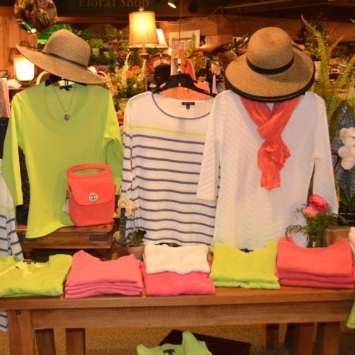 Women's, Men's and Children's apparel