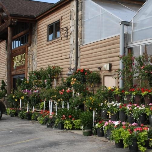 Breezewood Gardens Main Entrance