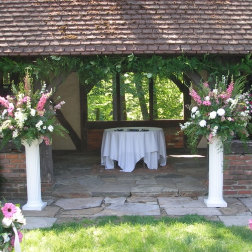 Ceremony Flowers At Hillbrook