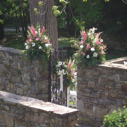 Entry Flowers At Hillbrook