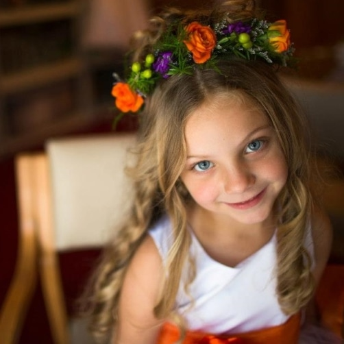 Halo For A Flower Girl