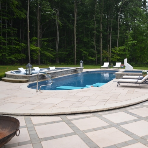 Luxury Patio with Pool