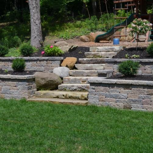 Versa-Loc Retaining Wall Steps